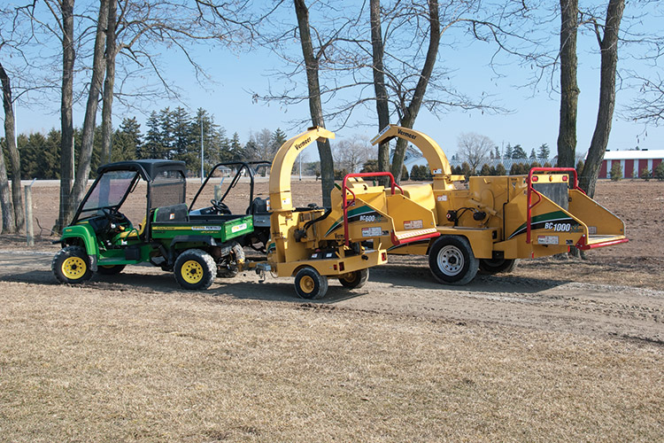 Brush Management and Chipper Rentals in Ontario   Total Rentals